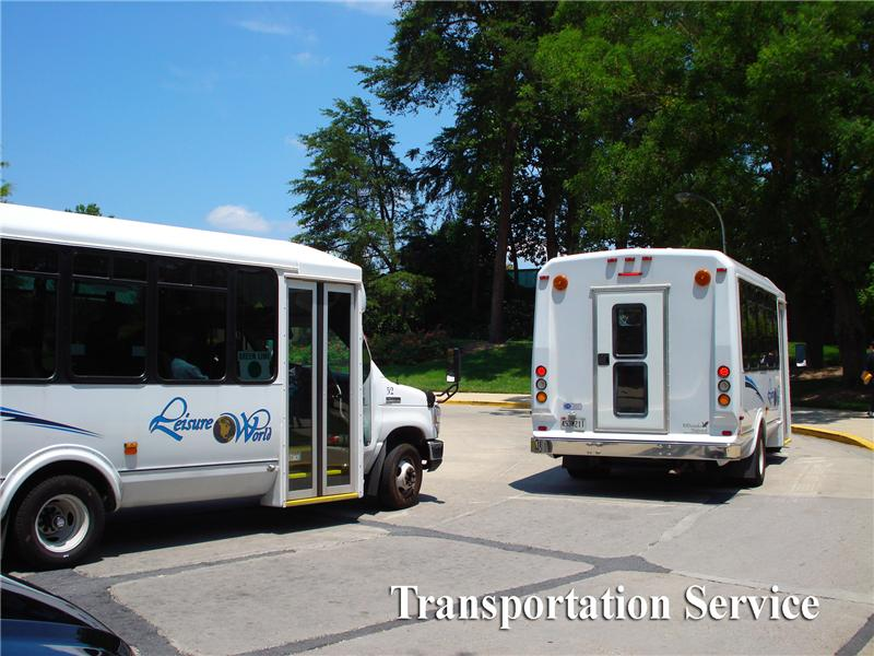 Leisure World bus transportation
