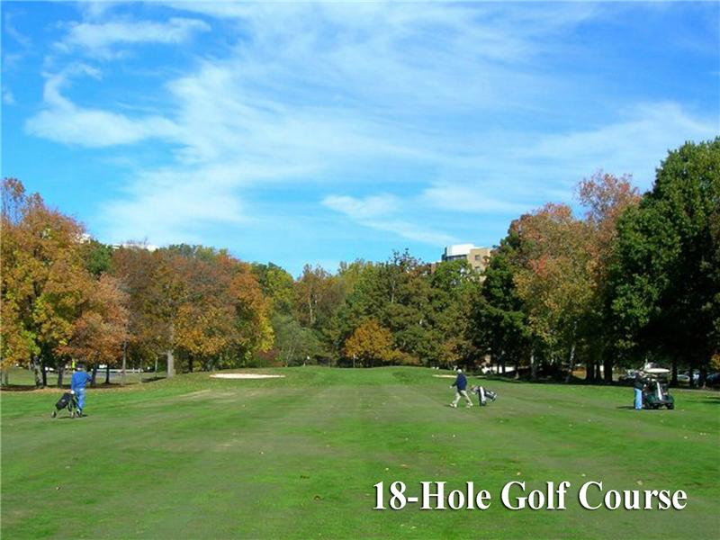 18-hole golf course in this community