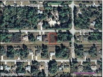 Alling Ter Lot 50 & 51, North Port, FL